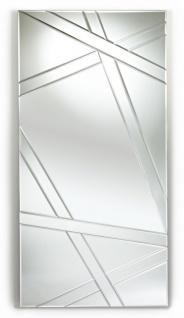 Casa Padrino Wohnzimmer Wandspiegel 75 x H. 150 cm - Luxus Möbel