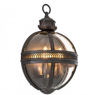 Casa Padrino Luxus Wandleuchte Bronze - Luxus Qualität