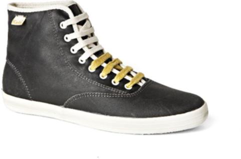 Keds Schuhe Vintage Champion Vintage Schuhe Oiled Hi Charcoal 637b9d