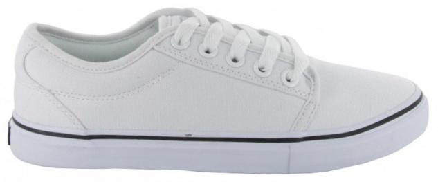 Adio Skateboard Schuhe- Sydney- White/White