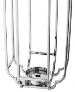 Casa Padrino Luxus Kerzenleuchter Silber 25 x 25 x H. 55 cm - Hotel Accessoires - Vorschau 4