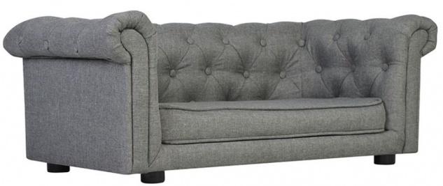 Casa Padrino Luxus Chesterfield Hunde & Katzen Sofa 90 x 48 x H. 34 cm - Verschiedene Farben - Luxus Tiermöbel - Vorschau 2