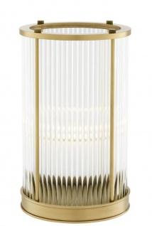 Casa Padrino Luxus Kerzenleuchter Antik Messing 16, 5 x H. 27, 5 cm - Hotel Restaurant Accessoires