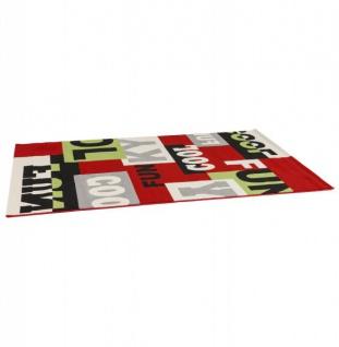 Casa Padrino Designer Teppich 160 x 230 cm Cool & Funky - Läufer - Vorschau 2