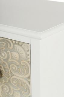 Casa Padrino Landhausstil Kommode mit 9 Schubladen Weiß / Mehrfarbig 100 x 40 x H. 92 cm - Landhausstil Möbel - Vorschau 4