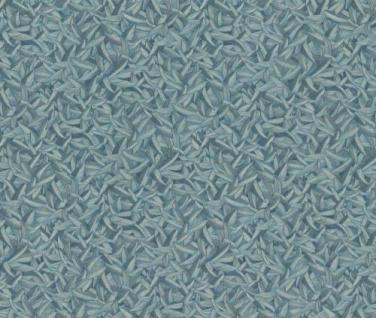 Harald Glööckler Designer Barock Tapete 52503 - Blau Grüne Federn