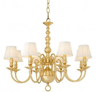 Casa Padrino Luxus Barockstil Kronleuchter Gold Ø 85 x H. 75 cm - Barock Möbel