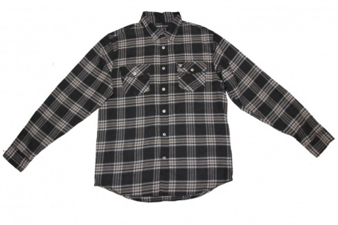 Fallen Skateboard Hemd Grey Plaid
