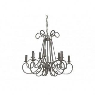 Casa Padrino Barock Decken Kronleuchter Silber Durchmesser 75 X H 141 Cm  Antik Stil   Möbel Lüster Leuchter Deckenleuchte Hängelampe