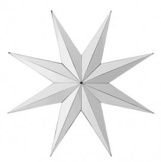 Casa Padrino Luxus Designer Wandspiegel Stern B 97.5 x H 97.5 cm - Luxury Hotel Collection