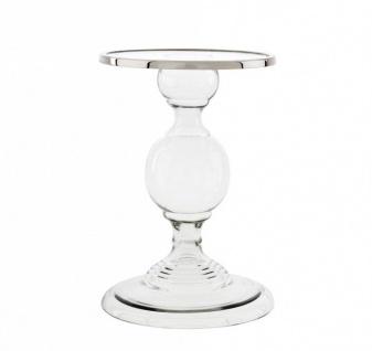 Casa Padrino Luxus Glas Kerzenhalter Durchmesser 26 x H. 38 cm - Hotel Dekoration