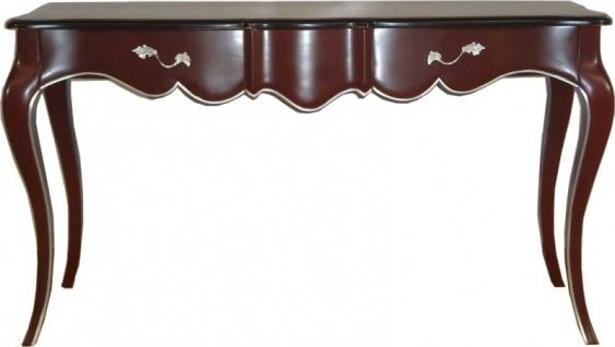 Casa Padrino Luxus Barock Konsolentisch Braun Konsole Tisch Beistelltisch