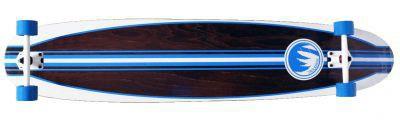 Paradise Longboard Casanova Kicktail Komplettboard Complete Longboard Long Skateboard Cruiser 140cm