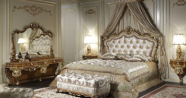 Casa Padrino Luxus Barock Konsole mit Spiegel Braun / Gold / Silber - Prunkvoller handgefertigter Schminktisch mit Wandspiegel - Hotel Möbel - Schloss Möbel - Luxus Qualität - Made in Italy - Vorschau 3