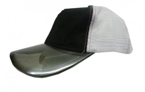 Mesh Trucker Cap White/Black Skateboard BMX Surf Cap