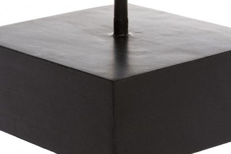 Casa Padrino Luxus Deko Holz Flügel mit Sockel Naturfarben / Schwarz 24 x 13 x H. 66 cm - Deko Accessoires - Vorschau 4
