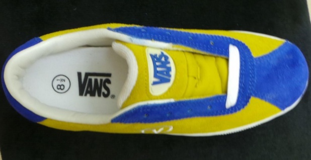 Vans Skateboard Schuhe- Lucy- Gold/Royal Blue