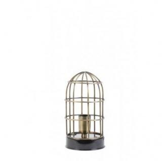 Casa Padrino Tischleuchte Schwarz 14 x H 25 cm - Leuchte - Tischleuchte - Vorschau