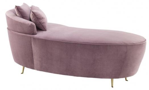 Casa Padrino Designer Sofa Lila 162 x 79 x H. 66 cm - Luxus Möbel - Vorschau 2