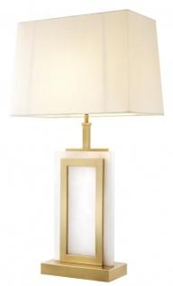 Casa Padrino Luxus Tischleuchte 23, 5 x 41 x H. 77, 5 cm - Designer Lampe