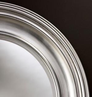 Casa Padrino Luxus Wohnzimmer Spiegel Silber O 102 Cm Wohnzimmer