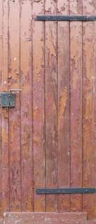 Tür 2.0 XXL Wallpaper für Türen 20007 Oberberg - selbstklebend- Blickfang für Ihr zu Hause - Tür Aufkleber Tapete Fototapete FotoTür 2.0 XXL Vintage Antik Stil Retro Wallpaper Fototapete - Vorschau 2