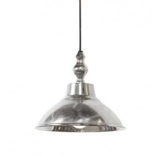 Casa Padrino Industrie Hängeleuchte in Silber - Industrial Design Leuchten & Lüster