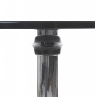 Designer Beistell Tisch aus dem Hause Casa Padrino ABS Höhe 60 cm, Tisch Durchmesser 60 cm Schwarz - Cafe Messe Hotel Praxis Kanzlei Einrichtung Beistelltisch - Vorschau 4