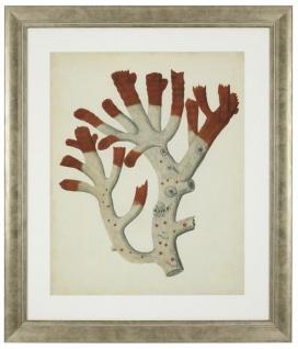 Casa Padrino Bilder / Kunstdruck 6er Set Korallen Antik Rot / Antik Silber 57, 5 x H. 68 cm - Luxus Deko - Vorschau 3