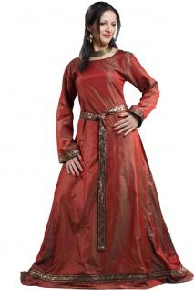 Isabel Silk Renaissance Kleid - Red