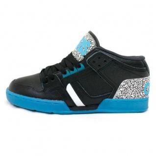 Osiris Skateboard Schuhe --NYC 83 MID- Black/JWL/White