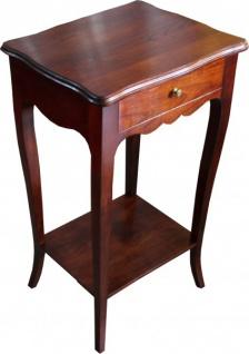 Casa Padrino Barock Kommode mit Schubladen - Nachtschrank Antik Stil - Barock Telefontisch - Vorschau 2