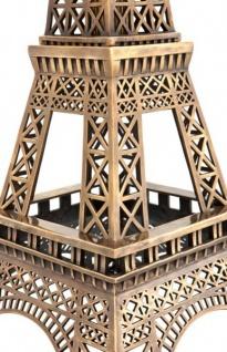 Casa Padrino Luxus Standleuchte Eiffelturm Messingfarben - Massives Metall - Leuchte Lampe - Tischleuchte Tischlampe, Stehleuchte, Stehlampe - Vorschau 3