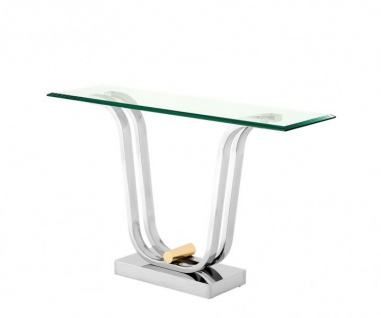 Casa Padrino Luxus Konsole 120 x 35 x H. 74 cm - Luxus Qualität