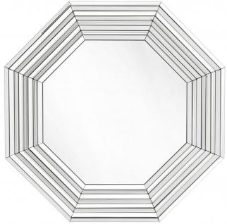 Casa Padrino Luxus Wohnzimmer Spiegel / Wandspiegel 106, 5 x H. 106, 5 cm - Wohnzimmermöbel