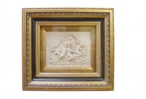 Casa Padrino Barock Wanddekoration Bilderrahmen Antik Gold