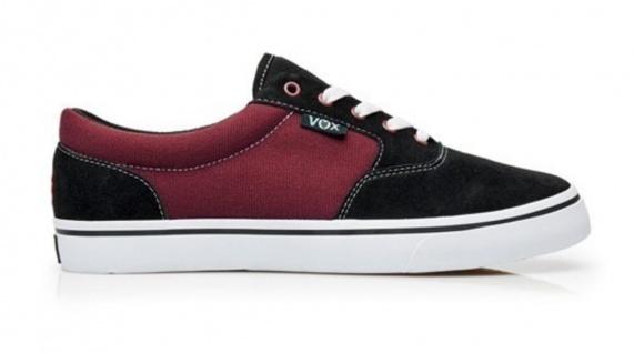Vox Skateboard Schwarz/kastanienbraun/Weiß Schuhe Kruzer Schwarz/kastanienbraun/Weiß Skateboard 407a23
