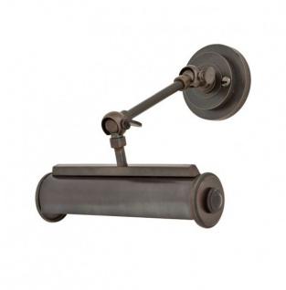 Casa Padrino Luxus Wandleuchte Antik Bronze Durchmesser 22 x 16 x H 21 cm - Luxury Collection