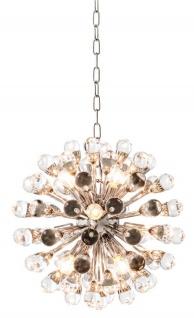 Casa Padrino Luxus Kronleuchter Silber Durchmesser 50 cm - Luxus Hotel Kollektion