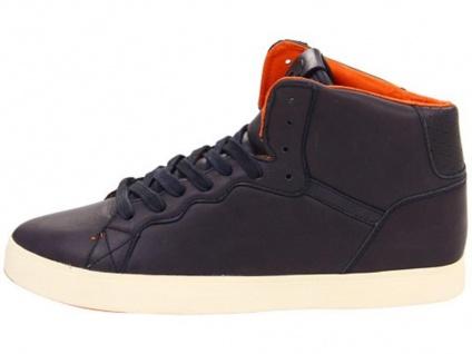 Osiris Skateboard Schuhe-- Ground High-- Navy/Orange/Cream