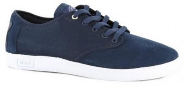 HUF Skateboard Schuhe Hufnagel Pro- Navy/White - Shoes Sneaker