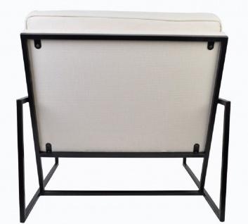Casa Padrino Luxus Sessel 84 x 87, 5 x H. 80 cm - Verschiedene Farben - Wohnzimmer Hotel Büro Club Sessel - Luxus Kollektion - Vorschau 5