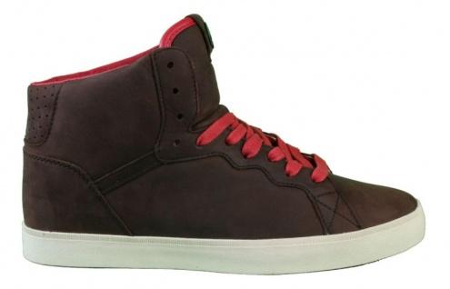 Osiris Skateboard Schuhe-- Ground High-- Brown/Red/Cream