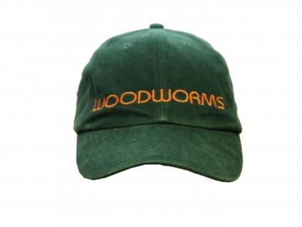 Myskatebrand Skateboard basic Cap Woodworms Green