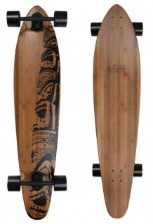 Jucker Hawaii Complete Longboard Makaha Special Edition - Kicktail Profi Longboard mit Koston Kugellagern