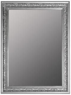 Casa Padrino Barock Spiegel / Wandspiegel Silber 62 x H. 82 cm - Möbel im Barockstil