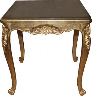 Casa Padrino Barock Luxus Esstisch Gold 200 cm x 100 cm- Esszimmer Tisch - Made in Italy - Vorschau 1