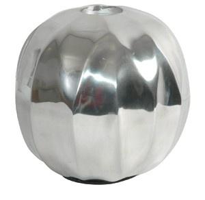 Designer Shine Teelicht Halter aus poliertem Aluminium - Teelichter Kerzenhalter