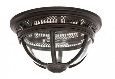 Casa Padrino Luxus Deckenleuchte Bronze Durchmesser 45 x H 30 cm Antik Stil - Möbel Lüster Deckenlampe - Vorschau 2