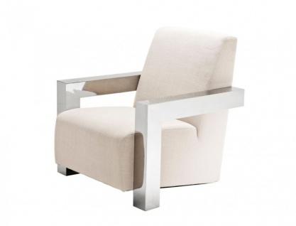 Casa Padrino Luxus Designer Art Deco Lounge Sessel - Luxus Club Sessel